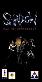 Box cover for Shadow: War of Succession on the Panasonic 3DO.