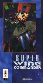 Box cover for Super Wing Commander on the Panasonic 3DO.