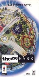 Box cover for Theme Park on the Panasonic 3DO.