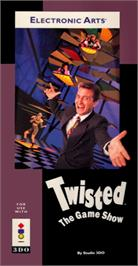 Box cover for Twisted: The Game Show on the Panasonic 3DO.