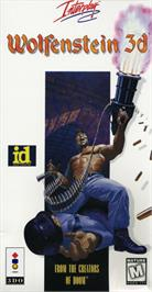 Box cover for Wolfenstein 3D on the Panasonic 3DO.