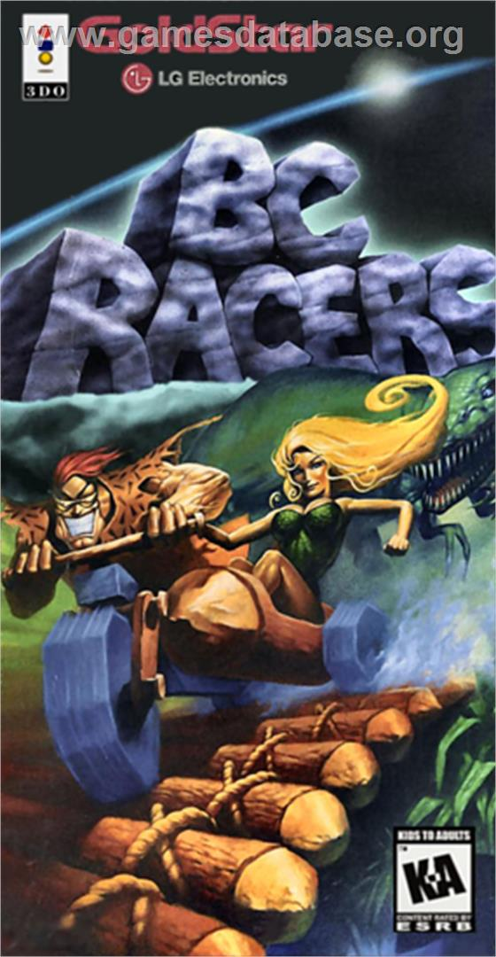 Title Screen Of Bc Racers On The Panasonic 3do