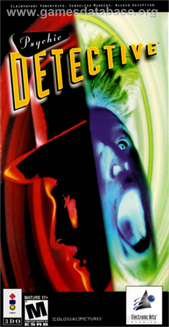 Box cover for Psychic Detective on the Panasonic 3DO.