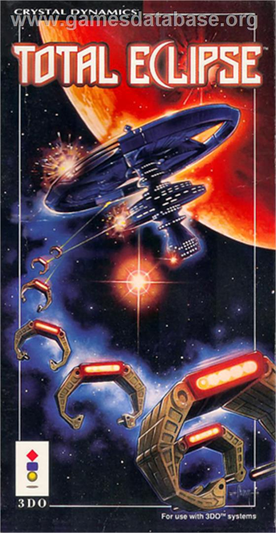 Box cover for Total Eclipse on the Panasonic 3DO.
