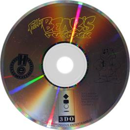 Artwork on the Disc for Fatty Bear's Fun Pack on the Panasonic 3DO.
