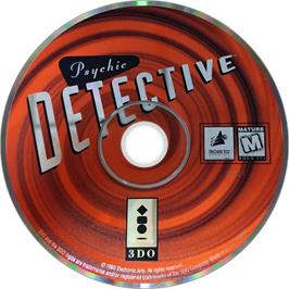 Artwork on the Disc for Psychic Detective on the Panasonic 3DO.
