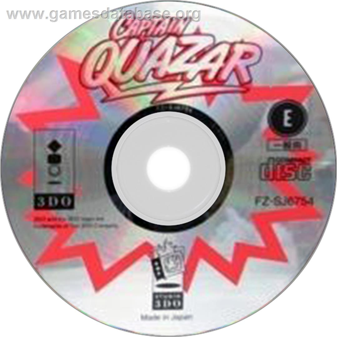 Captain Quazar - Panasonic 3DO - Artwork - Disc
