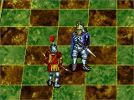 In game image of Battle Chess on the Panasonic 3DO.