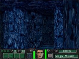 In game image of Deathkeep on the Panasonic 3DO.