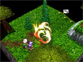 In game image of Lucienne's Quest on the Panasonic 3DO.
