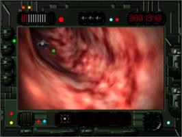 In game image of Microcosm on the Panasonic 3DO.