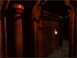 In game image of Myst on the Panasonic 3DO.