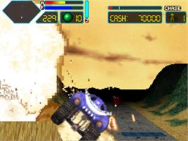In game image of Off-World Interceptor Extreme on the Panasonic 3DO.