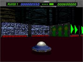 In game image of PaTaank on the Panasonic 3DO.