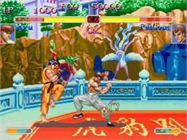 In game image of Super Street Fighter II Turbo on the Panasonic 3DO.