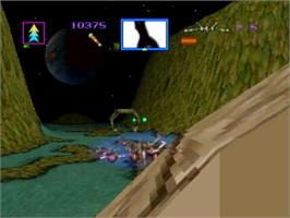 In game image of Total Eclipse on the Panasonic 3DO.