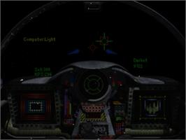 In game image of Wing Commander III: Heart of the Tiger on the Panasonic 3DO.