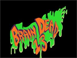 Title screen of Brain Dead 13 on the Panasonic 3DO.
