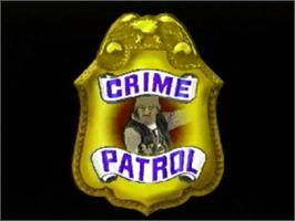 Title screen of Crime Patrol v1.4 on the Panasonic 3DO.
