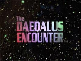Title screen of Daedalus Encounter on the Panasonic 3DO.