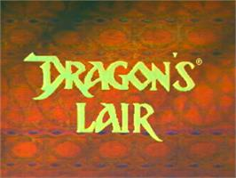 Title screen of Dragon's Lair on the Panasonic 3DO.