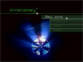 Title screen of Immercenary on the Panasonic 3DO.