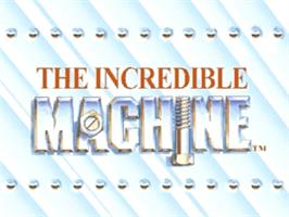 Title screen of Incredible Machine on the Panasonic 3DO.