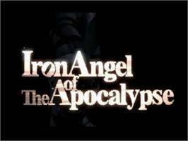 Title screen of Iron Angel of the Apocalypse on the Panasonic 3DO.