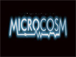 Title screen of Microcosm on the Panasonic 3DO.