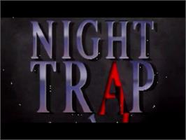 Title screen of Night Trap on the Panasonic 3DO.