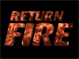 Title screen of Return Fire on the Panasonic 3DO.