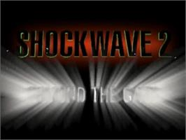 Title screen of Shock Wave 2: Beyond the Gate on the Panasonic 3DO.