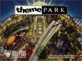 Title screen of Theme Park on the Panasonic 3DO.