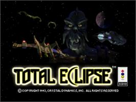 Title screen of Total Eclipse on the Panasonic 3DO.