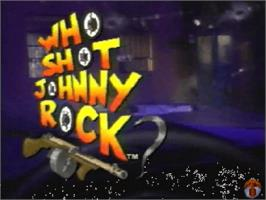 Title screen of Who Shot Johnny Rock? v1.6 on the Panasonic 3DO.