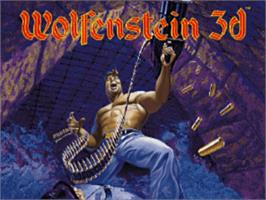 Title screen of Wolfenstein 3D on the Panasonic 3DO.