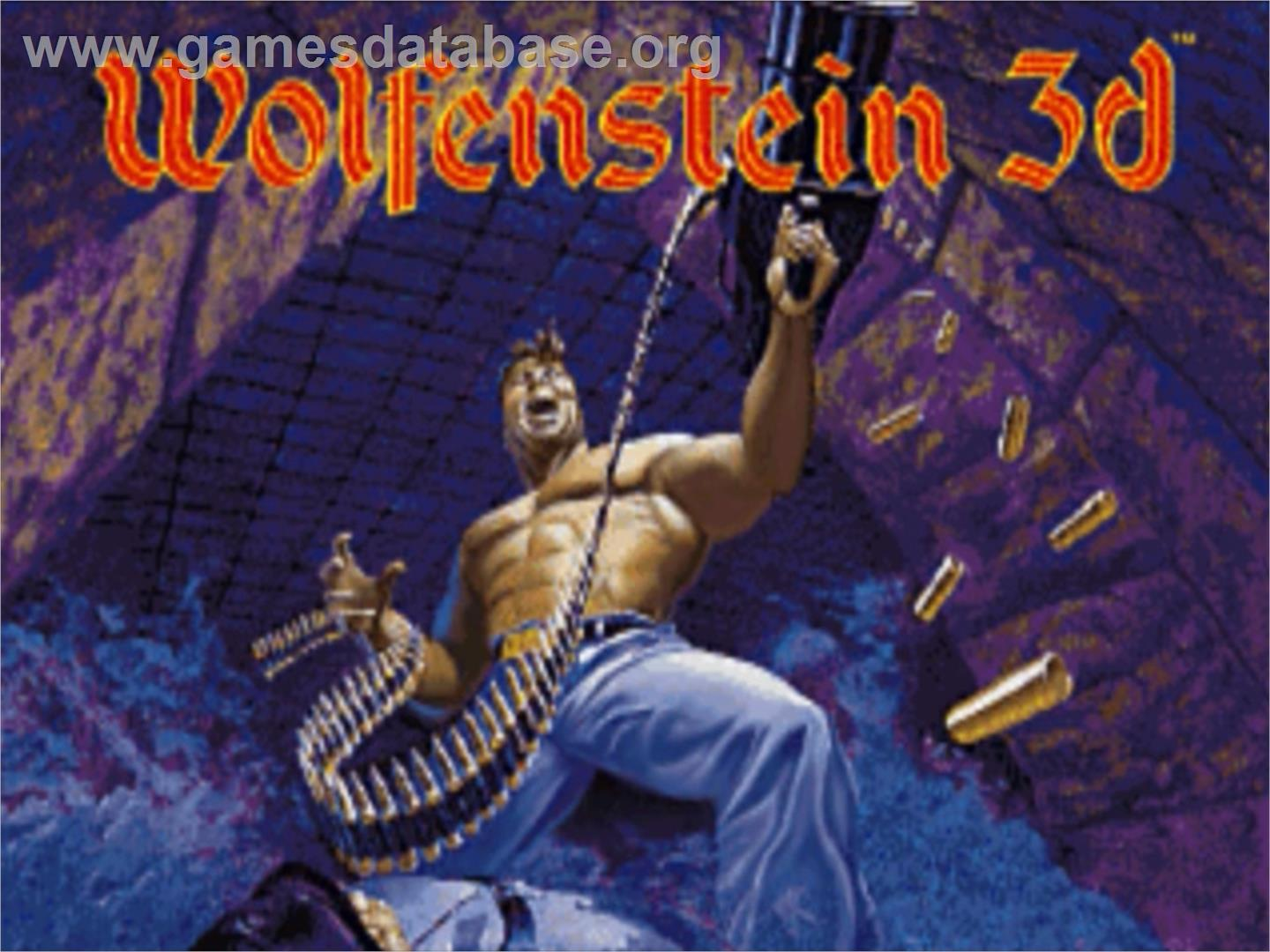 Wolfenstein 3d panasonic 3do games database for Wolfenstein 3d