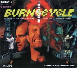 Box cover for Burn: Cycle on the Philips CD-i.