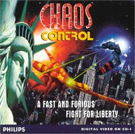 Box cover for Chaos Control on the Philips CD-i.