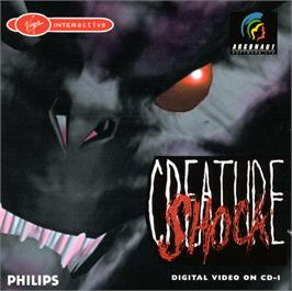 Box cover for Creature Shock on the Philips CD-i.