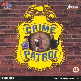 Box cover for Crime Patrol v1.4 on the Philips CD-i.