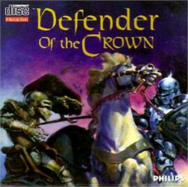 Box cover for Defender of the Crown on the Philips CD-i.