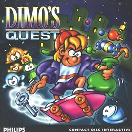 Box cover for Dimo's Quest on the Philips CD-i.
