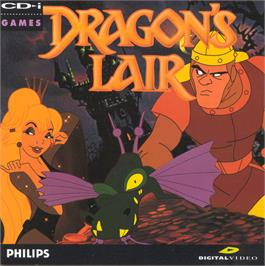 Box cover for Dragon's Lair on the Philips CD-i.
