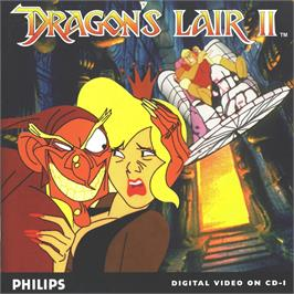 Box cover for Dragon's Lair 2 on the Philips CD-i.