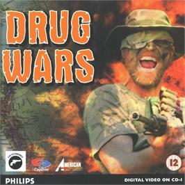 Box cover for Drug Wars on the Philips CD-i.