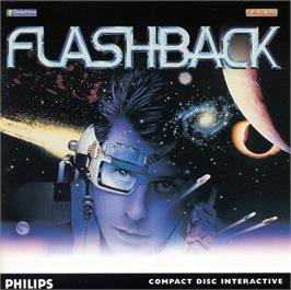 Box cover for Flashback on the Philips CD-i.