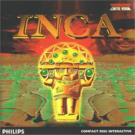 Box cover for Inca on the Philips CD-i.
