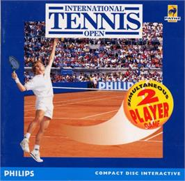 Box cover for International Tennis Open on the Philips CD-i.