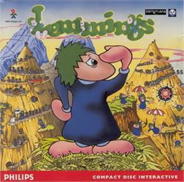 Box cover for Lemmings on the Philips CD-i.